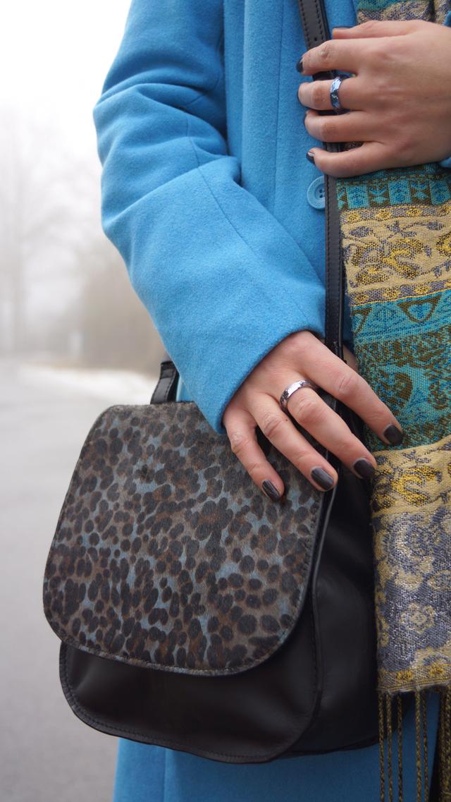 Outfit Boden Slipper Leopardenfellmuster 07