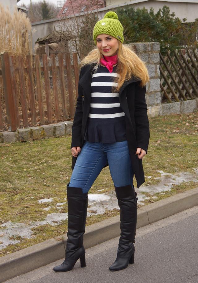 Outfit Greenery Giesswein Strickmütze 02