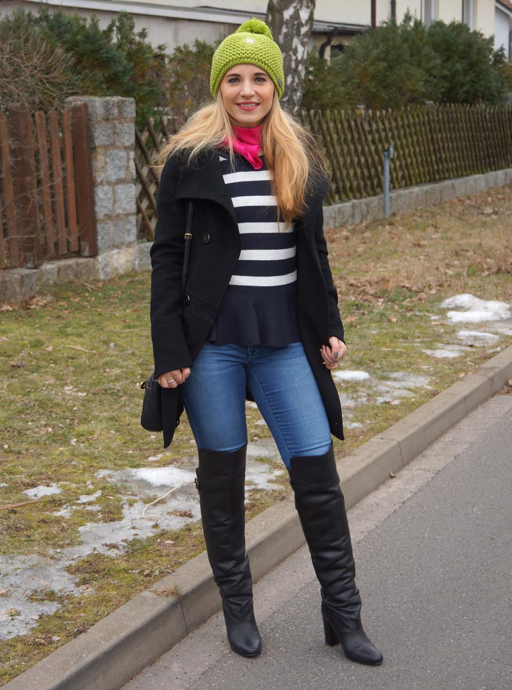 Outfit Greenery Giesswein Strickmütze 03