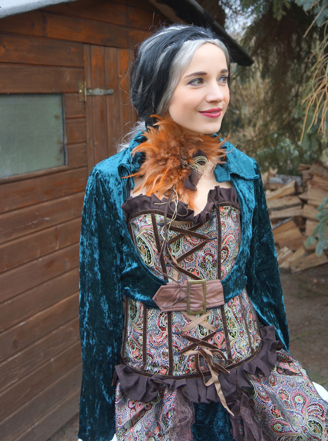 Steampunk Lady Liza Kostüm von Kostüme com 03