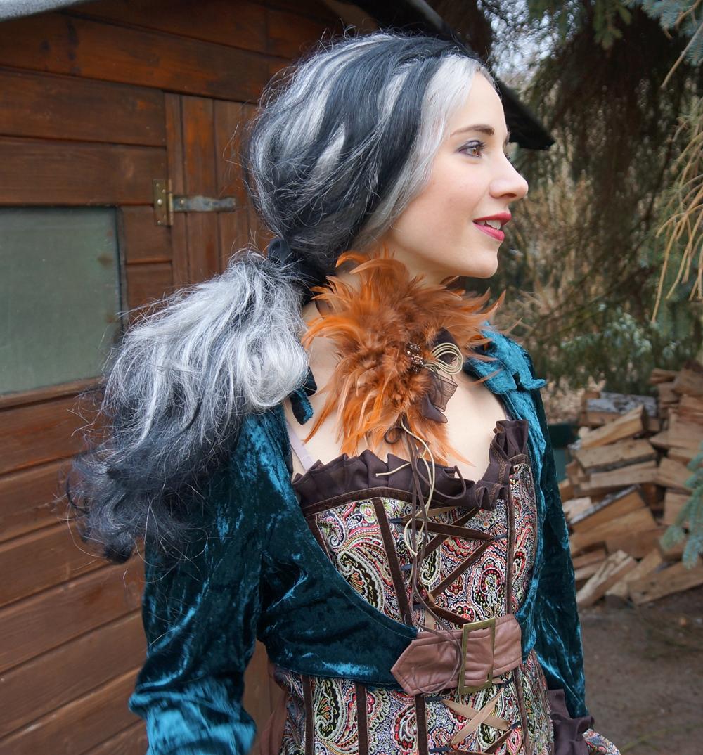 Steampunk Lady Liza Kostüm von Kostüme com 05