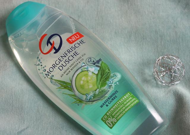 CD Morgenfrische Dusche aus Wasserminze- und Gurkenextrakt