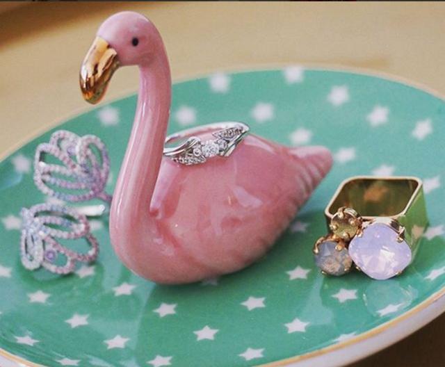 Flamingo Schmuckhalter 01