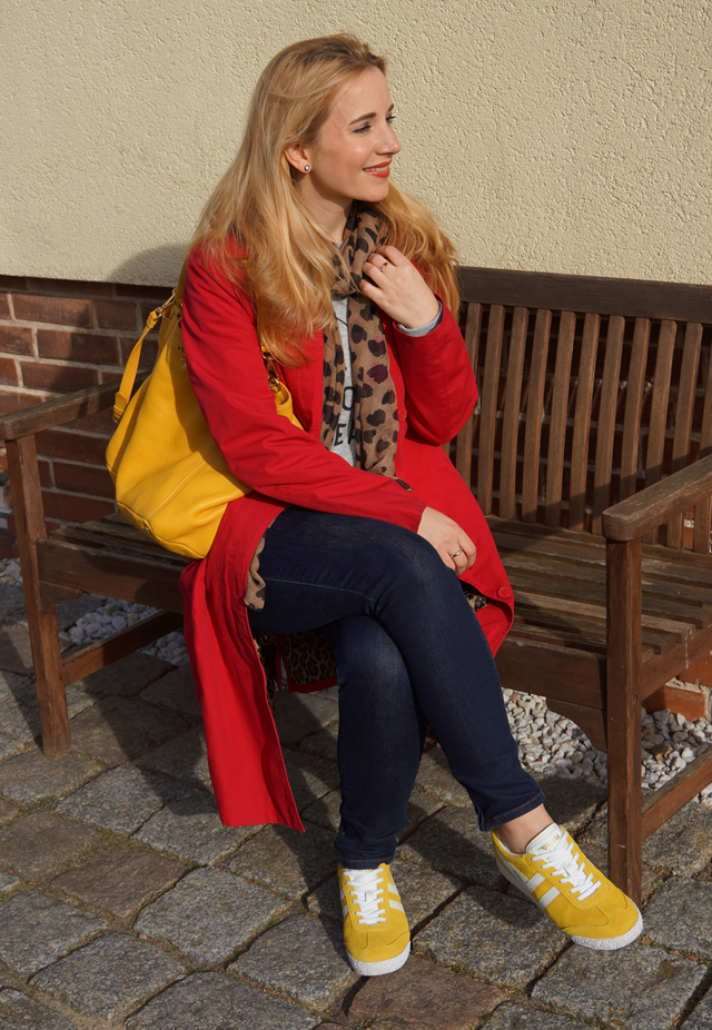 Outfit Gelbe Gola-Frühlingssneaker 02