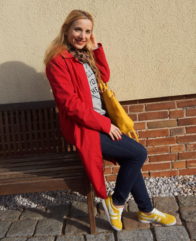 Outfit Gelbe Gola-Frühlingssneaker 06