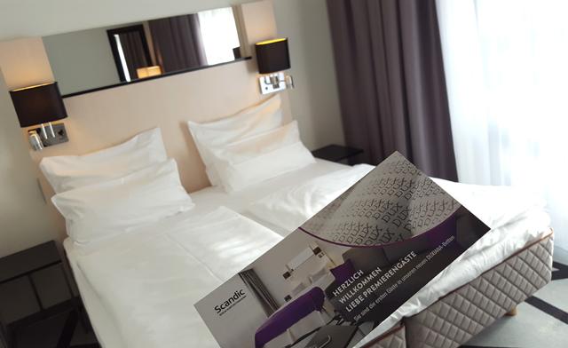 Dux Matratze Test Hotel Scandic Berlin Kurfürstendamm Bett Duxiana 02