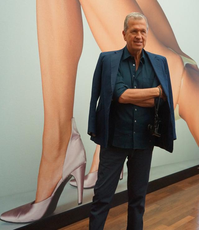 Mario Testino in Berlin