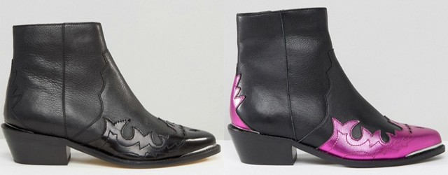 Modetrend Cowboy-Boots Cowboystiefel Westernschuhe