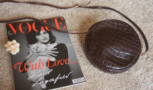 Granny Bag Vogue Deutschland Juli 2013