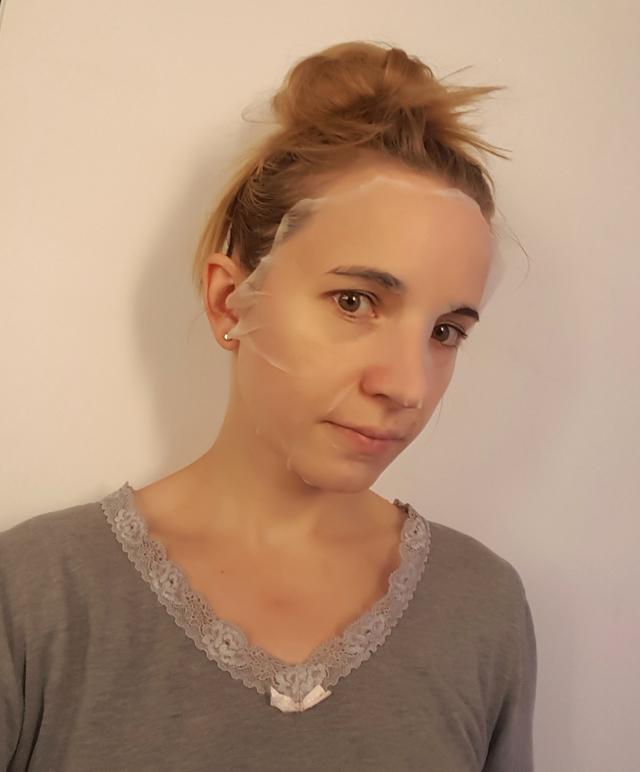 Hormel Hemeier Tuchmaske Pore Invisible Facial Mask Gesichtsmaske 04