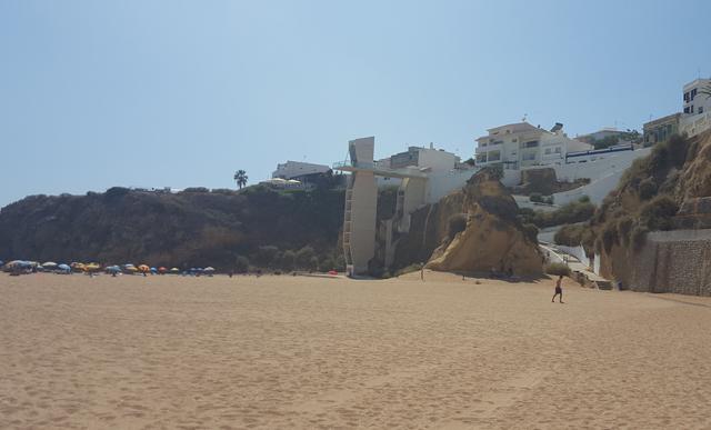 Albufera Strand Fahrstuhl