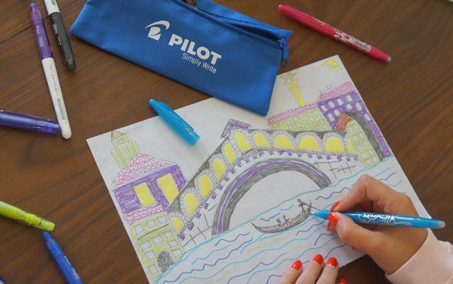 Ausprobieren und Wegradieren Momente PILOT FriXion 03
