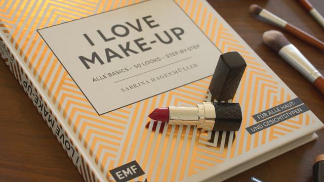 Buchvorstellung Buch I love Make-up Sabrina Hagenmüller 01