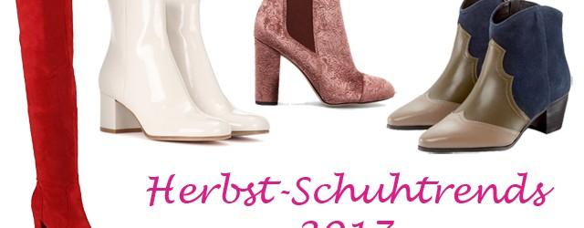 Herbst-Schuhtrends 2017