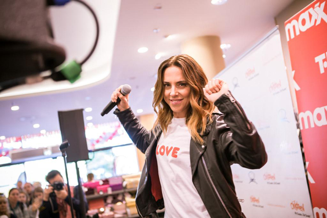 Melanie C and TK Maxx World Childrens Day 05