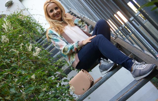 Outfit Blätter-Blouson 5