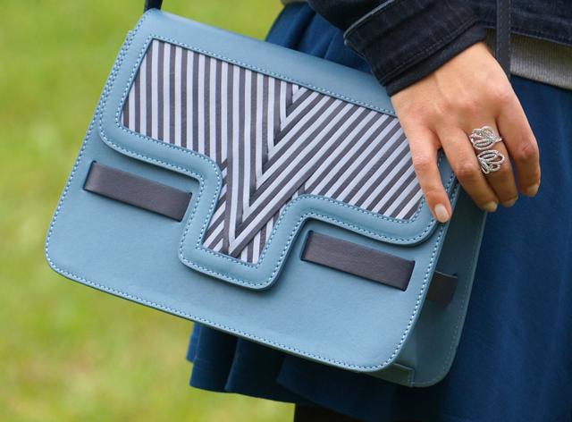 Outfit Lili Radu V Bag Blau