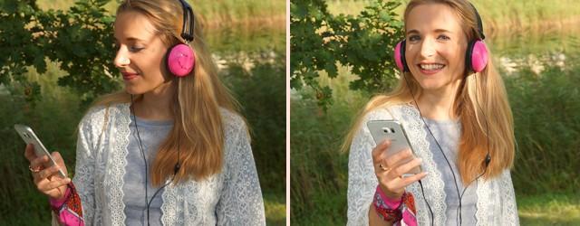 Outfit Pinke Kopfhörer und Herbstblues 04