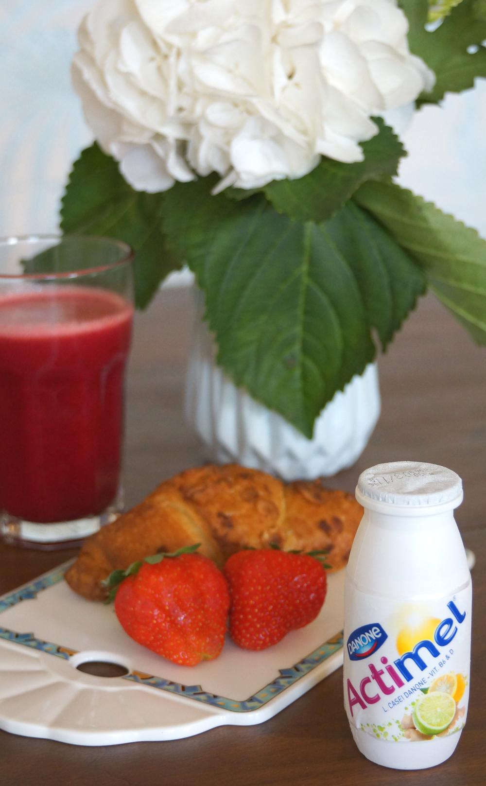 Frühstücksroutine Mein Start in den Tag mit Actimel von Danone 04