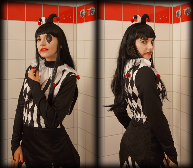 Halloween Horror Narren Kostüm 06
