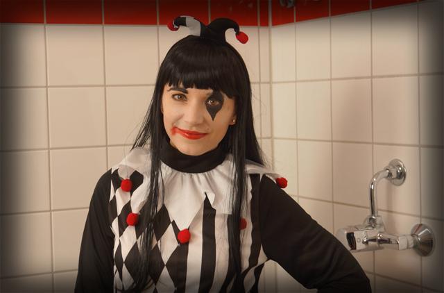 Halloween Horror Narren Kostüm 01