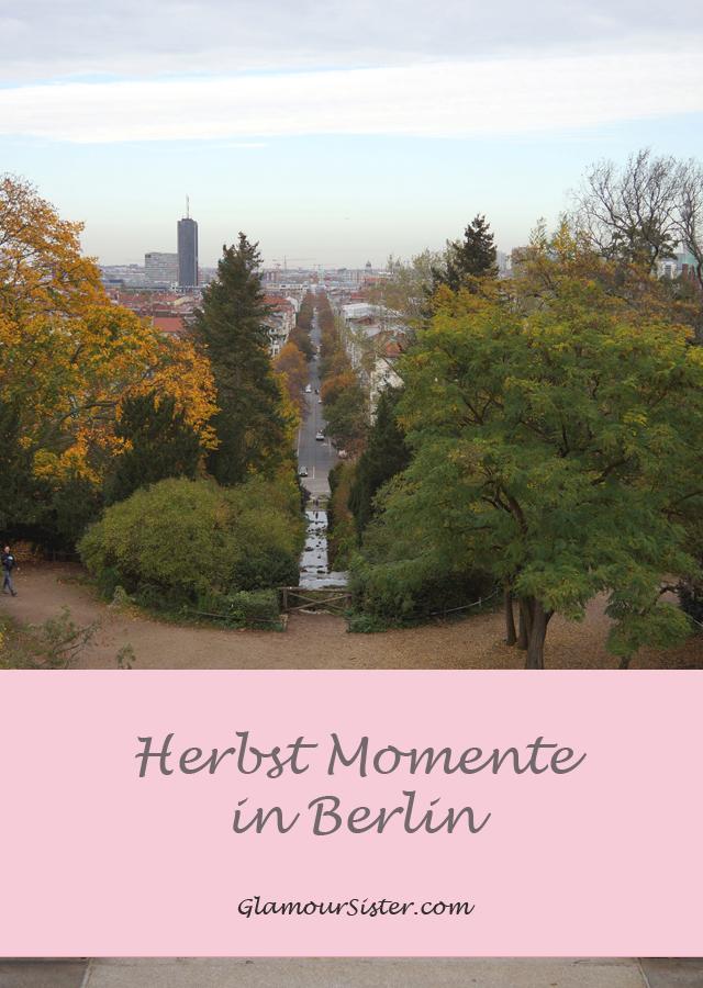 Outdoor Herbst Momente in Berlin