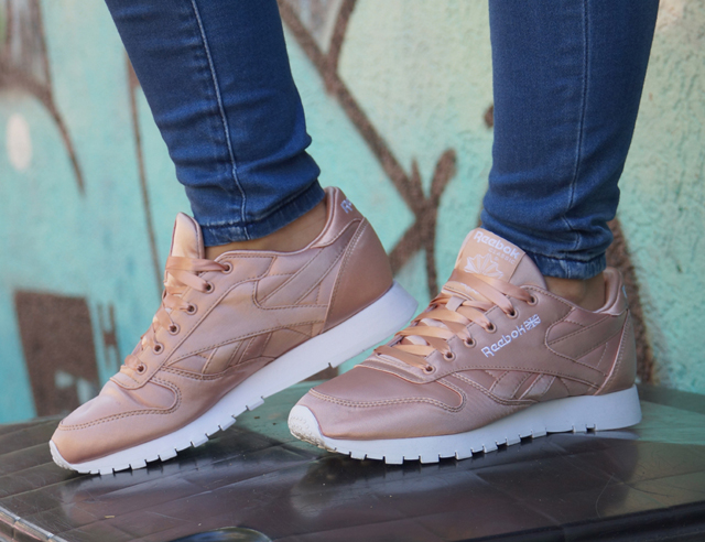 Outfit Reebok Classic Sneaker Leather Satin 09