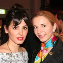 Marie mit Katie Melua