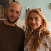 Marie mit Simon Barth