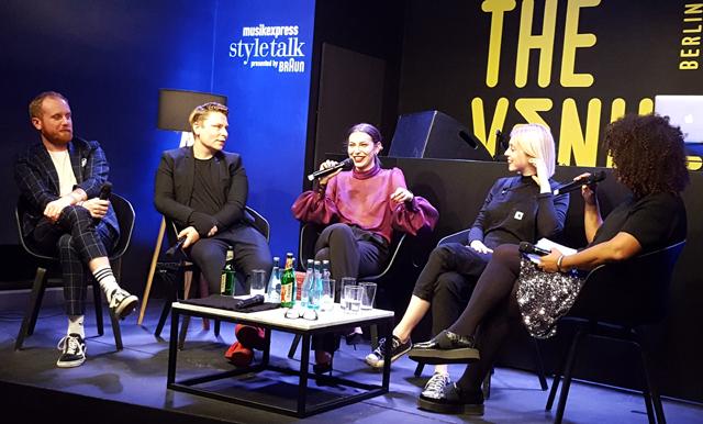 Sind Influencer die neuen Popstars - Gesprächsrunde mit Masha Sedgwick 04