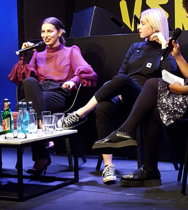Sind Influencer die neuen Popstars - Gesprächsrunde mit Masha Sedgwick 07