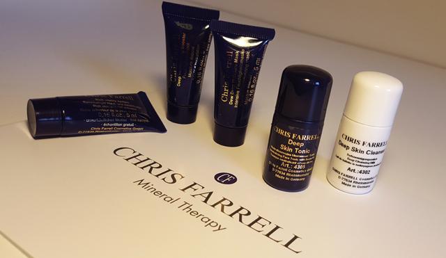 Test Erfahrung Chris Farrell Produkten Mineral Therapy Pflegelinie 01