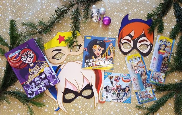 Weihnachtliche Geschenkideen für Mädchen mit Warner Bros DC SUPER HERO GIRLS Gewinnspiel
