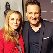 Marie mit Designer Guido Maria Kretschmer