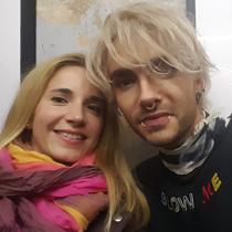 Marie mit Bill Kaulitz