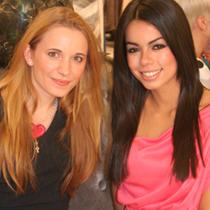 Marie mit Fernanda Brandao