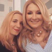 Marie mit Frauke Ludowig
