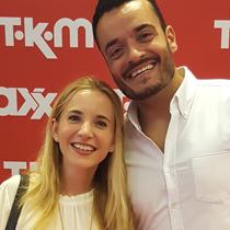 Marie mit Giovanni Zarrella