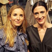 Marie mit Isabel Vollrath