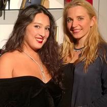 Marie mit Isabelle Bordji