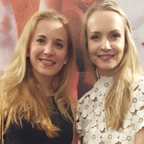 Marie mit Janin Reinhardt