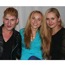 Marie mit Jesko Wilke und Maria Poweleit