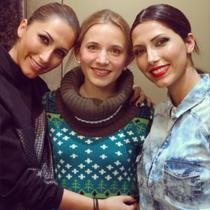 Marie mit Jila & Jale