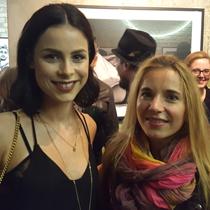 Marie mit Lena Meyer-Landrut