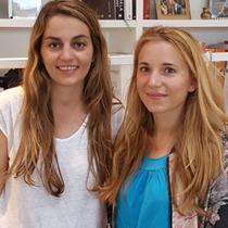Marie mit Lili Radu