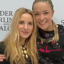 Marie mit Marina Hoermanseder