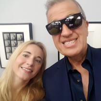 Marie mit Mario Testino