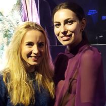 Marie mit Masha Sedgwick