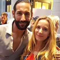Marie mit Massimo Sinato