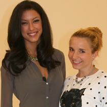 Marie mit Rebecca Mir